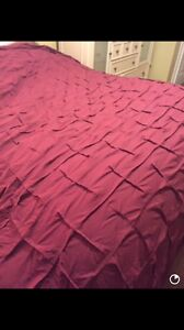 King size duvet and cover like new!