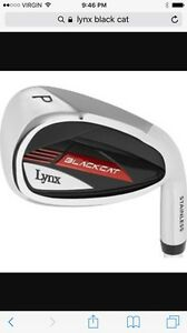 Lynx black cat irons and hybrids