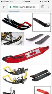 Looking for a snowmobile ski to put on my bike