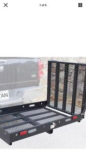 Trailer hitch carriers for rent