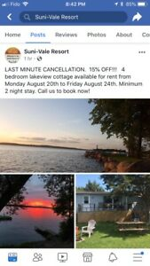 Great deal for a cottage on Rice Lake!!