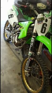2004 Kawasaki KX250F great shape, many upgrades