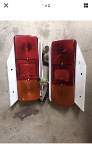 Combination tail lights.