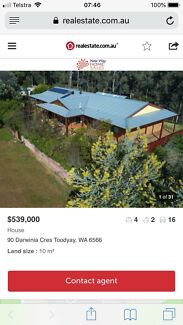 House and land 10 acres  Coondle Toodyay Area Preview