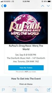 Rupaul 's Drag Race Werq the World Tour Toronto