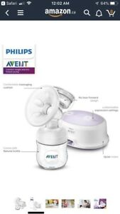 Philips avent electric single breast pump