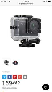 Camera action style GoPro