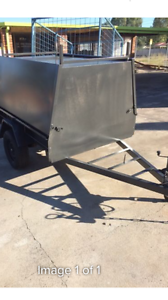 7 x 4 Tradesmen Trailer With Long Draw Bar Gosnells Gosnells Area Preview