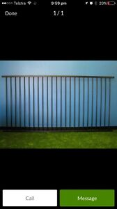 Wanted!!!!! Black flat top pool fence off cut Baldivis Rockingham Area Preview