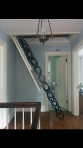 Steel Accordion Stairs
