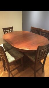Dining table and set