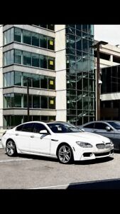 Lease takeover BMW 650 GRAN COUPE M PACKAGE WARRANTY