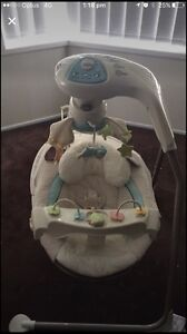 Fisher price little lamb swing Eschol Park Campbelltown Area Preview
