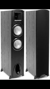 KLIPSCH F-30 PAIR TOWER SPEAKERS PERFECT CONDITION Cambridge Kitchener Area image 2