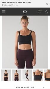 Brand new never worn size 6 lululemon both ways bra
