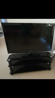 """3 things together 42"""" TV and Fridge and TV Cabinet for selling"""