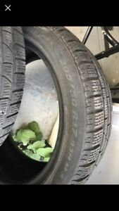 Run Flat winter Tires Pirelli 205 50 17 Like New
