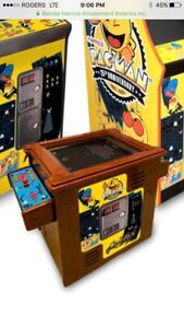 WANTED NAMCO COCKTAIL ARCADE TABLE MACHINE