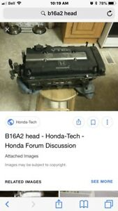 B16A2 complete top end