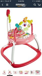 Fisher price pink jumperoo