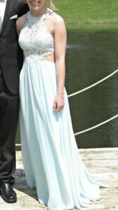 Prom dresses and high heels