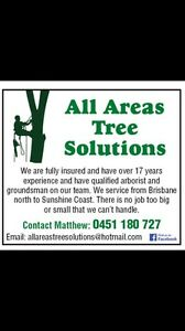 All Areas Tree Solutions (north Brisbane) Chermside Brisbane North East Preview