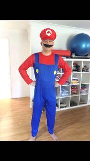 Super Mario Bros Luigi Nintendo Costume Cosplay