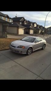 Supercharged 2003 Hyundai Tiburon buy for parts or fix