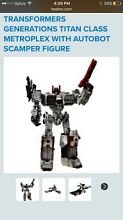 TRANSFORMERS GENERATIONS TITAN CLASS METROPLEX Dee Why Manly Area Preview