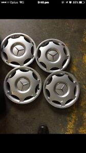C180 Mercedes Benz rims and hub caps for sale Campbelltown Campbelltown Area Preview