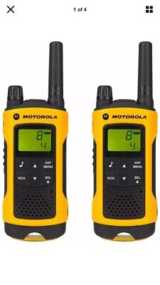 Motorola TLKR T80 Extreme Walkie Talkie - Twin Pack Two Way Radios