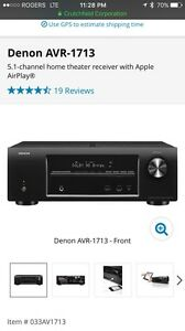 Denon AVR-1713 Receiver GREAT CONDITION!