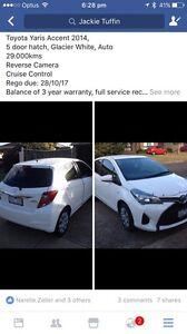 2014 Toyota Yaris Hatchback Werribee Wyndham Area Preview