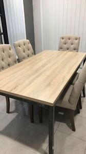 Dinning Table ( chairs just for picture not for sale) Leppington Camden Area Preview