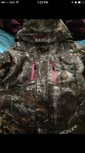 Camo fxr coat for sale (small) contact with a offer
