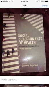 Social determinants of health textbook