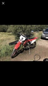 2004 HONDA CRF250X need gone