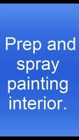 Residential spray painting