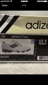NEVER WORN ADIDAS GOLF SHOES