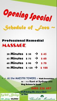 Korean Remedial Massage in Sydney CBD (515 Kent St) Sydney City Inner Sydney Preview