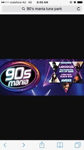 90's mania tickets Collaroy Manly Area Preview
