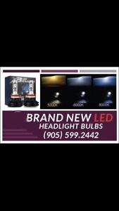 BRAND NEW LED HEADLIGHT BULBS $50/SET