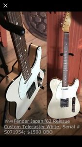 Five awesome guitars