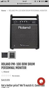 Selling! 90% new Roland V-drum personal monitor