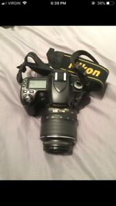 Nikon D80 with 3 lenses & 2 camera bags
