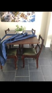Vintage/old style wooden table