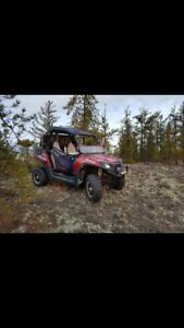 2013 rzr 800 with trailer