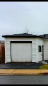 Garage available for storage