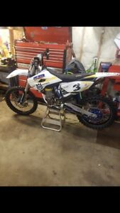 2015 husky 450 Race ready