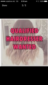 Looking for qualified hair dress and beautician